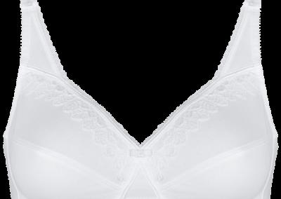 Le coton blanc de maintien sans armatures