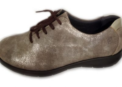Derby Suave cuir gold